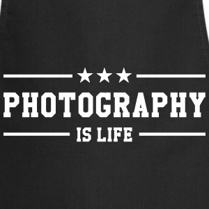 Photography is life  Aprons - Cooking Apron