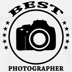 Best Photographer Tee shirts - T-shirt Premium Homme