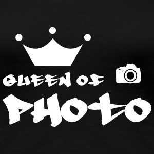 Queen of Photo Camisetas - Camiseta premium mujer