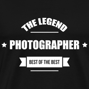 Photographer T-shirts - Mannen Premium T-shirt