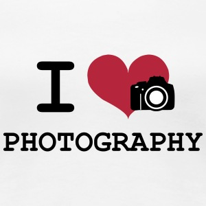 I Love Photography T-Shirts - Women's Premium T-Shirt