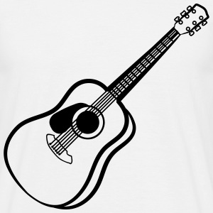 acoustic guitar T-Shirts - Men's T-Shirt