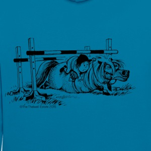PoneyChute Thelwell Dessin - Sweat-shirt contraste