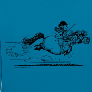 PoneySprint Thelwell Dessin - Sweat-shirt contraste