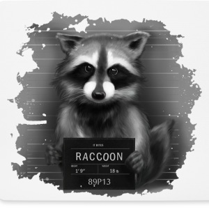 Raccoon Mugshot Other - Mouse Pad (horizontal)