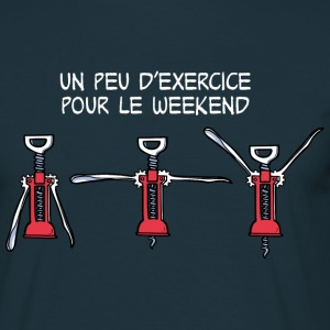 Exercice pour le weekend T-shirts - Mannen T-shirt