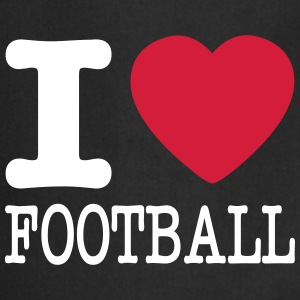 i love football / I heart football  2c Grembiuli - Grembiule da cucina