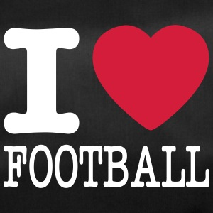 i love football / I heart football  2c Bags & Backpacks - Duffel Bag