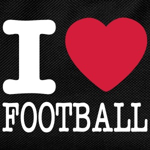 i love football / I heart football  2c Borse & zaini - Zaino per bambini