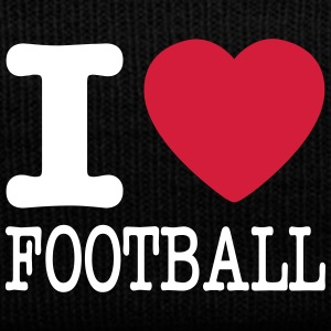 i love football / I heart football  2c Caps & luer - Vinterlue