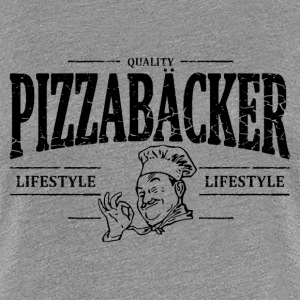 Pizzabäcker T-Shirts - Frauen Premium T-Shirt