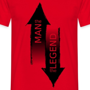 The Man - The Legend - T-shirt Homme