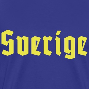 Sverige - Men's Premium T-Shirt