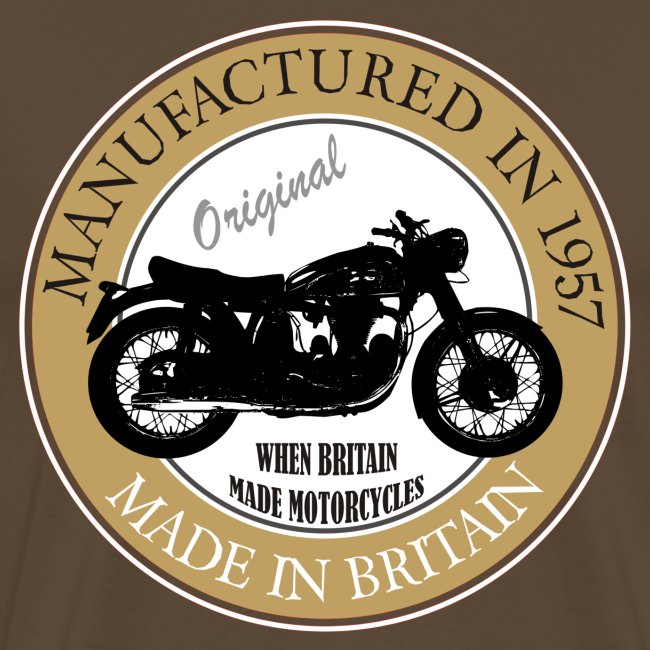 Made in 1957 Motorbike