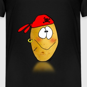 patate pirate Tee shirts - T-shirt Premium Enfant