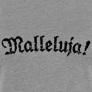 Malleluja! Fraktur (Used Look) Schwarz