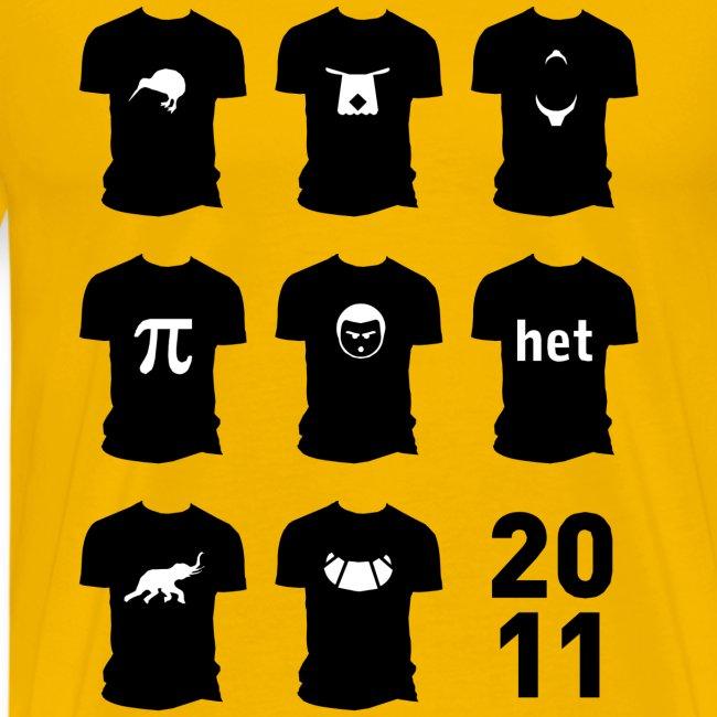 Shirt van 2011
