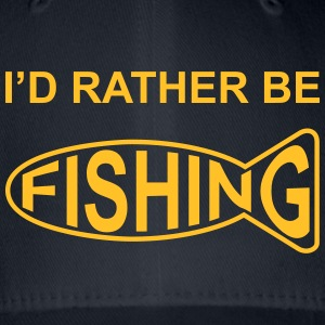 I'd Rather Be Fishing Caps & Hats - Flexfit Baseball Cap