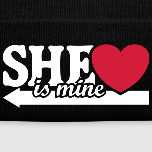 She is mine I love you my Girlfriend She's baby  Caps & Hats - Winter Hat