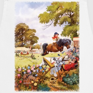 Pony toernooi Thelwell Cartoon Kookschorten - Keukenschort