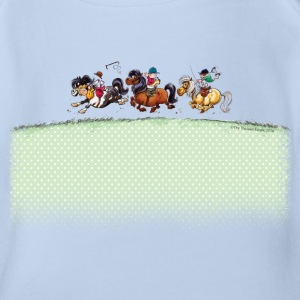 Three Jockeys Thelwell Cartoon Body neonato - Body per neonato