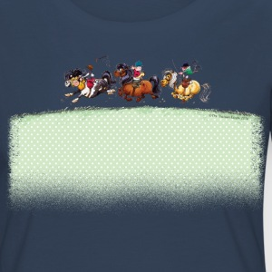 Trois Jockeys Thelwell Dessin Manches longues - T-shirt manches longues Premium Femme