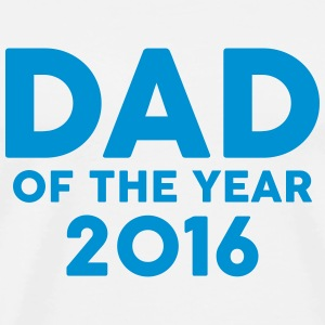 Dad of the Year 2016 T-shirts - Mannen Premium T-shirt
