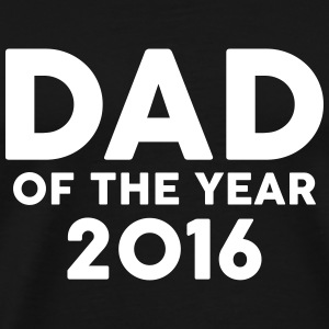 Dad of the Year 2016 T-shirts - Herre premium T-shirt