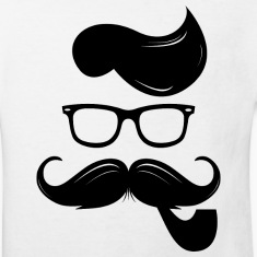 Real hipster T-shirts