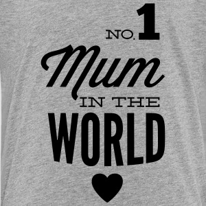 The best mother in the world Shirts - Teenage Premium T-Shirt