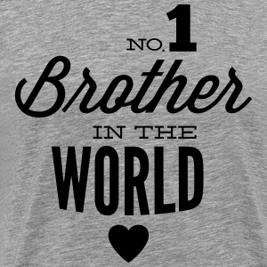 no1 brother of the world Tee shirts - T-shirt Premium Homme