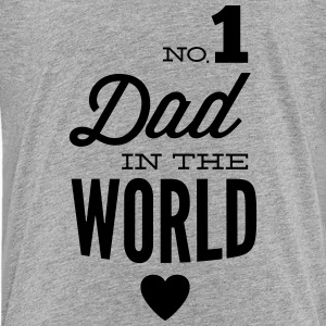 no1 dad of the world T-shirts - Premium-T-shirt tonåring