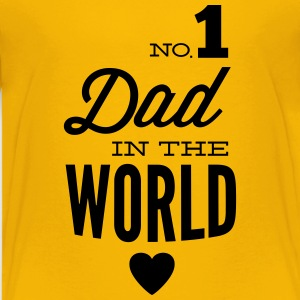 no1 dad of the world Shirts - Teenager Premium T-shirt