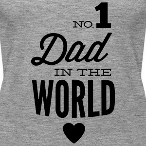 no1 dad of the world Tops - Camiseta de tirantes premium mujer