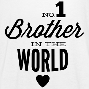 no1 brother of the world Tops - Camiseta de tirantes mujer, de Bella