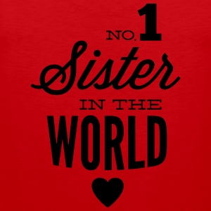 no1 sister of the world Tank Tops - Männer Premium Tank Top