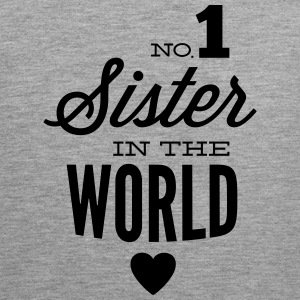 no1 sister of the world Tank Tops - Tank top premium hombre