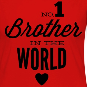 no1 brother of the world Manches longues - T-shirt manches longues Premium Femme