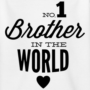 no1 brother of the world T-Shirts - Teenager T-Shirt