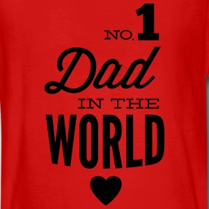 no1 dad of the world Manches longues - T-shirt manches longues Premium Ado