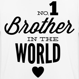 no1 brother of the world T-shirts - Herre T-shirt svedtransporterende