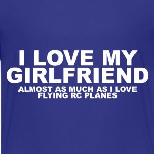 T-Shirt For RC Hobbyists with Girlfriends - Teenage Premium T-Shirt
