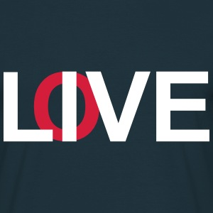 Live & Love - Men's T-Shirt