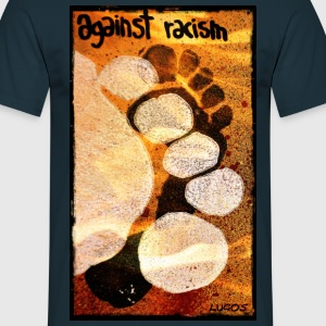 Against Racism  T-Shirts - Männer T-Shirt