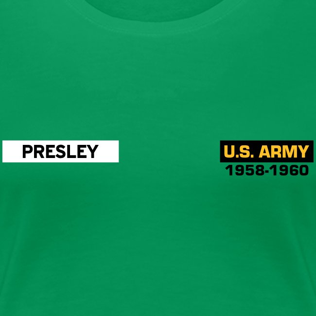 In the Army, now