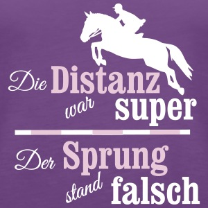 Springreiter Tops - Frauen Premium Tank Top