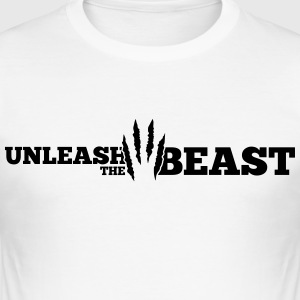 Unleash the Beast Bodybuilding Kratzspuren Camisetas - Camiseta ajustada hombre