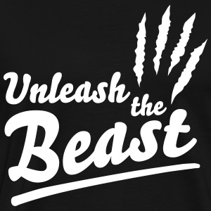 Unleash the beast Tee shirts - T-shirt Premium Homme