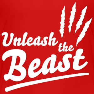 Unleash the beast Skjorter - Premium T-skjorte for barn
