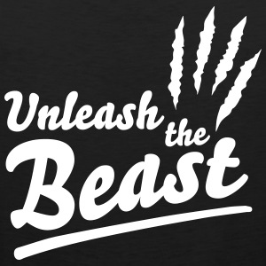 Unleash the beast Tanktops - Mannen Premium tank top